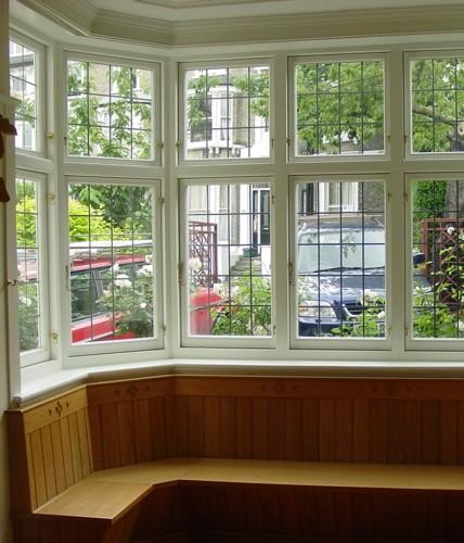 Double Bay Window : Original double glazed ltd bay windows